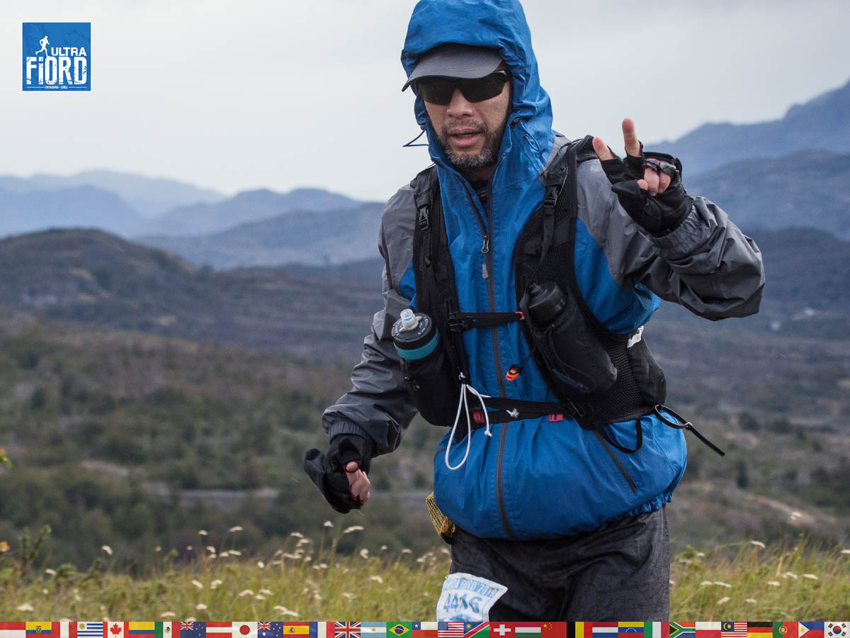 utf1904clsi0137FB; Ultra Trail Running in Patagonia, Chile; Ultra Fiord Fifth Edition 2019; Torres del Paine; Última Esperanza; Puerto Natales; Patagonia Running Ultra Trail; Claudio Silva