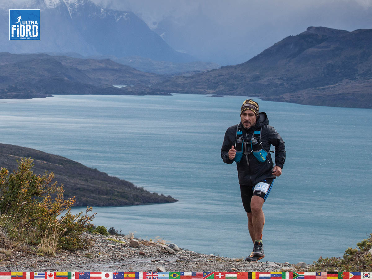 utf1904clsi0139FB; Ultra Trail Running in Patagonia, Chile; Ultra Fiord Fifth Edition 2019; Torres del Paine; Última Esperanza; Puerto Natales; Patagonia Running Ultra Trail; Claudio Silva