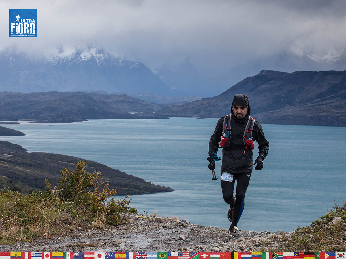 utf1904clsi0145FB; Ultra Trail Running in Patagonia, Chile; Ultra Fiord Fifth Edition 2019; Torres del Paine; Última Esperanza; Puerto Natales; Patagonia Running Ultra Trail; Claudio Silva