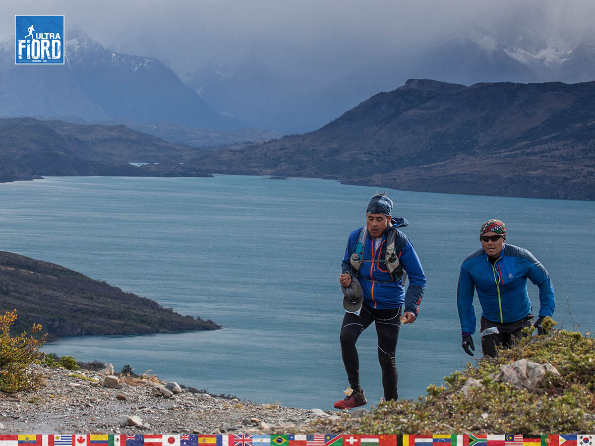 utf1904clsi0147FB; Ultra Trail Running in Patagonia, Chile; Ultra Fiord Fifth Edition 2019; Torres del Paine; Última Esperanza; Puerto Natales; Patagonia Running Ultra Trail; Claudio Silva