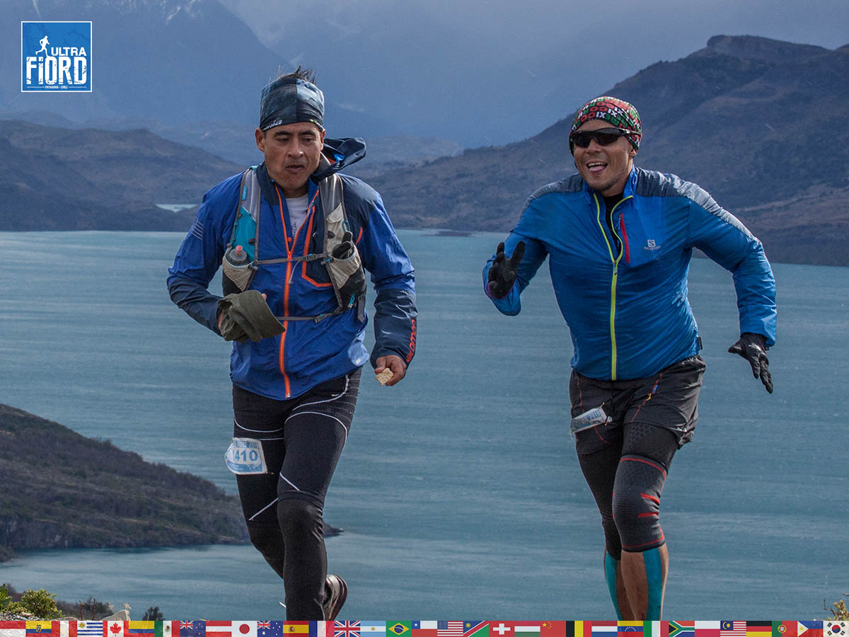 utf1904clsi0149FB; Ultra Trail Running in Patagonia, Chile; Ultra Fiord Fifth Edition 2019; Torres del Paine; Última Esperanza; Puerto Natales; Patagonia Running Ultra Trail; Claudio Silva
