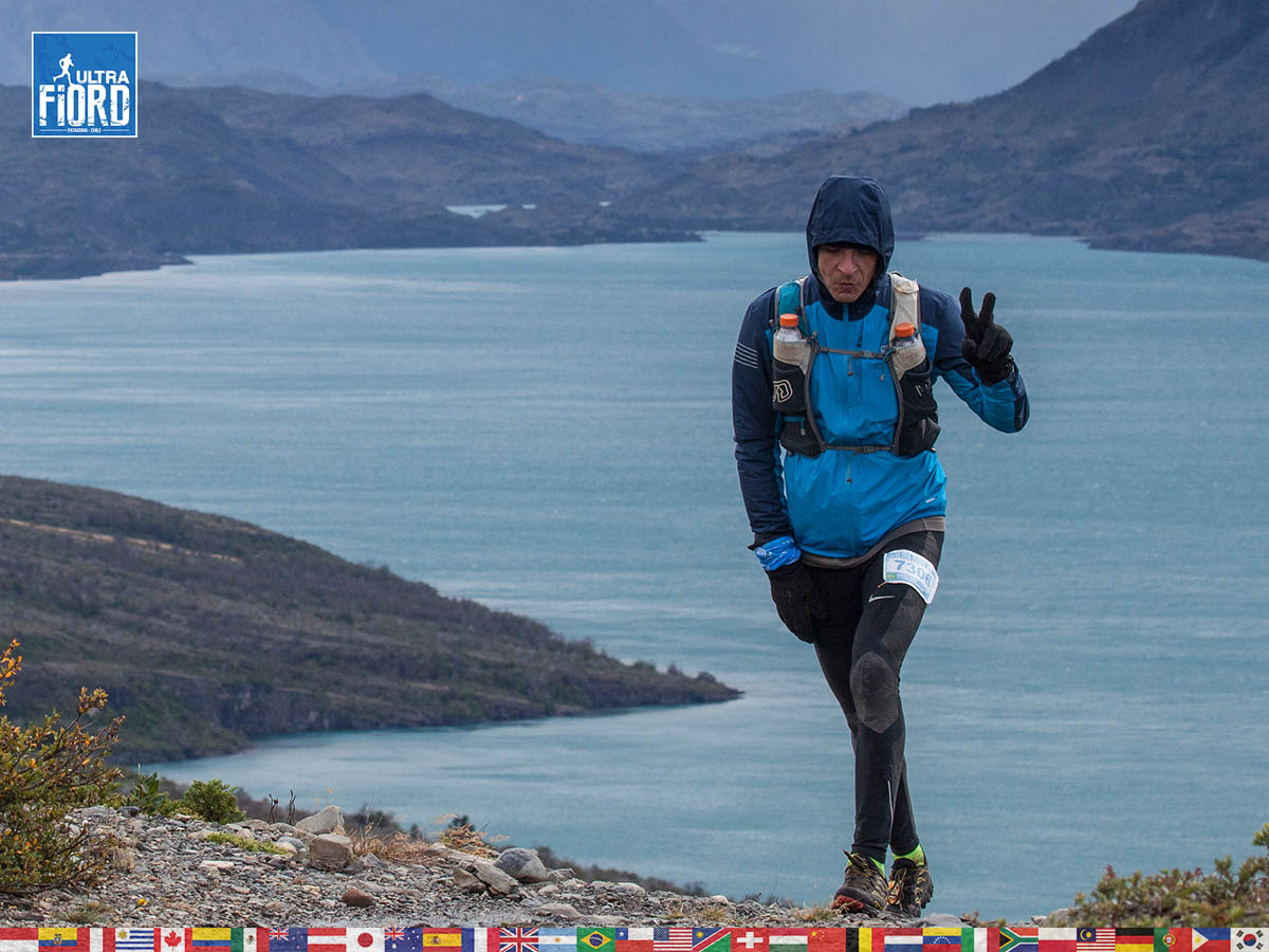 utf1904clsi0153FB; Ultra Trail Running in Patagonia, Chile; Ultra Fiord Fifth Edition 2019; Torres del Paine; Última Esperanza; Puerto Natales; Patagonia Running Ultra Trail; Claudio Silva