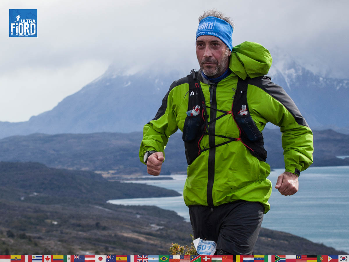 utf1904clsi0159FB; Ultra Trail Running in Patagonia, Chile; Ultra Fiord Fifth Edition 2019; Torres del Paine; Última Esperanza; Puerto Natales; Patagonia Running Ultra Trail; Claudio Silva