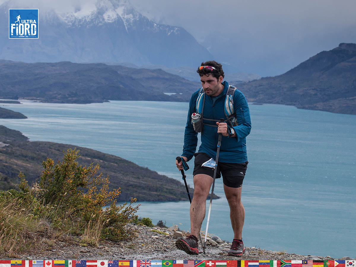 utf1904clsi0162FB; Ultra Trail Running in Patagonia, Chile; Ultra Fiord Fifth Edition 2019; Torres del Paine; Última Esperanza; Puerto Natales; Patagonia Running Ultra Trail; Claudio Silva