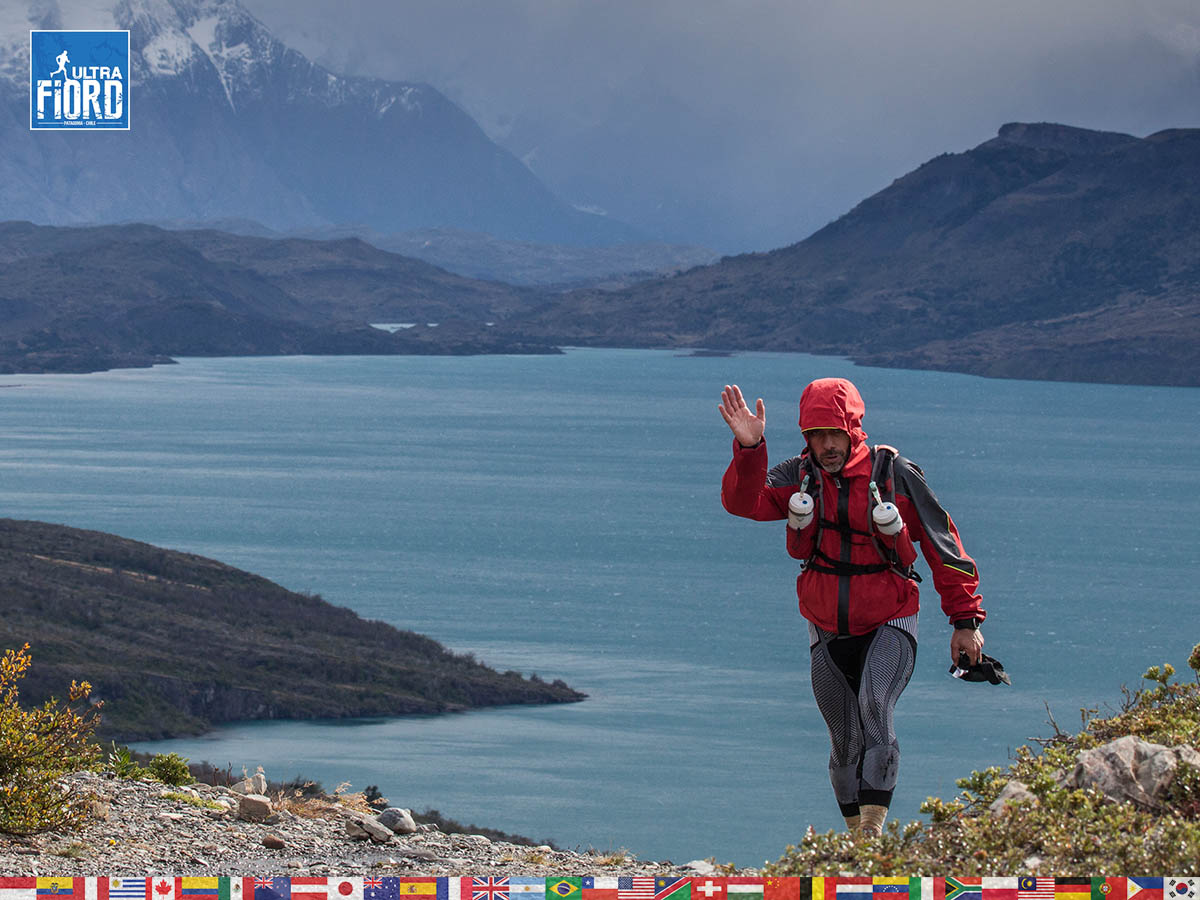 utf1904clsi0173FB; Ultra Trail Running in Patagonia, Chile; Ultra Fiord Fifth Edition 2019; Torres del Paine; Última Esperanza; Puerto Natales; Patagonia Running Ultra Trail; Claudio Silva