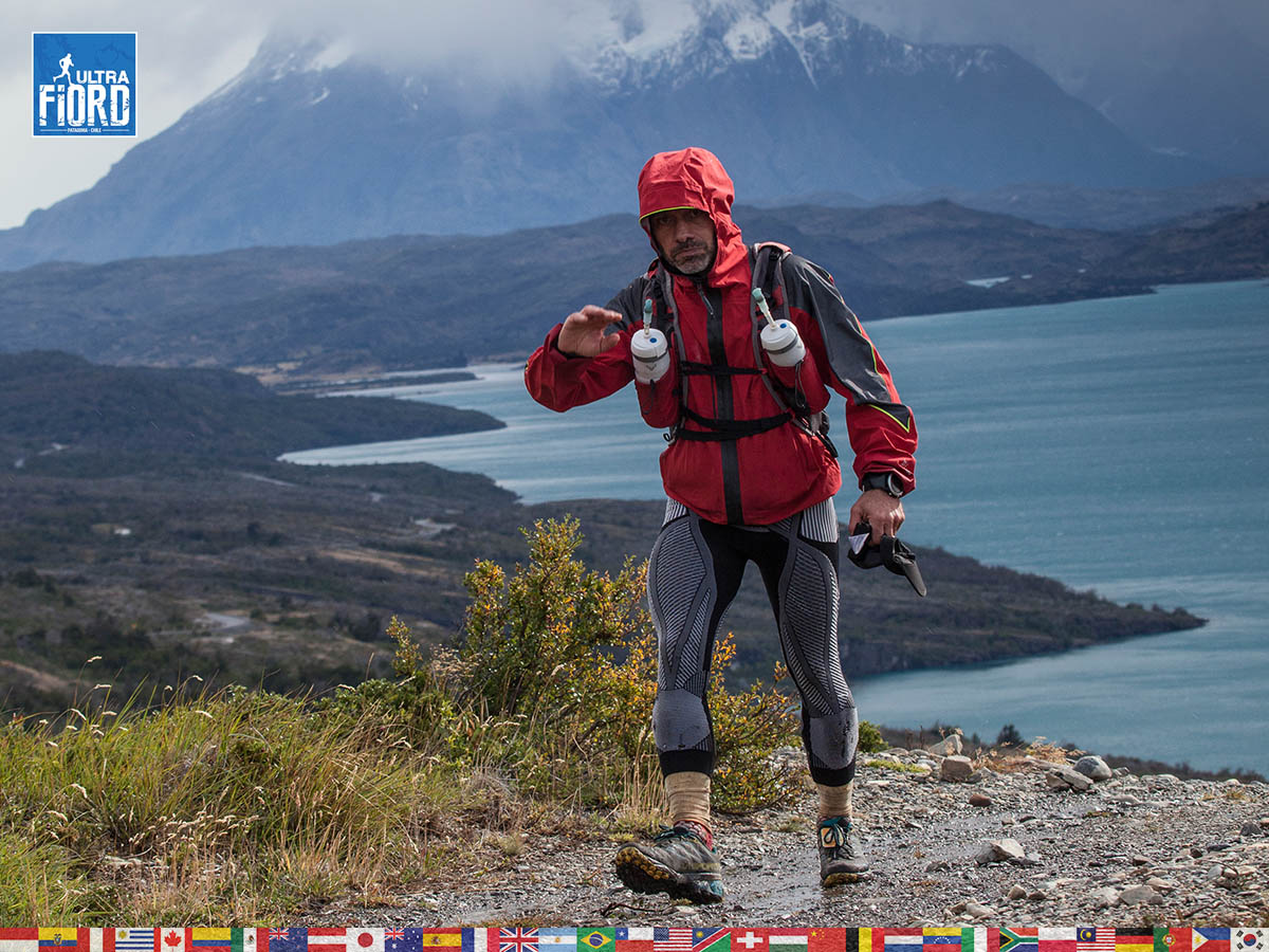 utf1904clsi0175FB; Ultra Trail Running in Patagonia, Chile; Ultra Fiord Fifth Edition 2019; Torres del Paine; Última Esperanza; Puerto Natales; Patagonia Running Ultra Trail; Claudio Silva