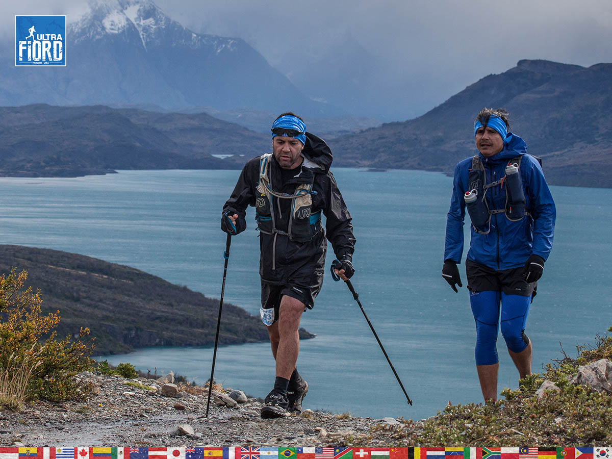 utf1904clsi0178FB; Ultra Trail Running in Patagonia, Chile; Ultra Fiord Fifth Edition 2019; Torres del Paine; Última Esperanza; Puerto Natales; Patagonia Running Ultra Trail; Claudio Silva