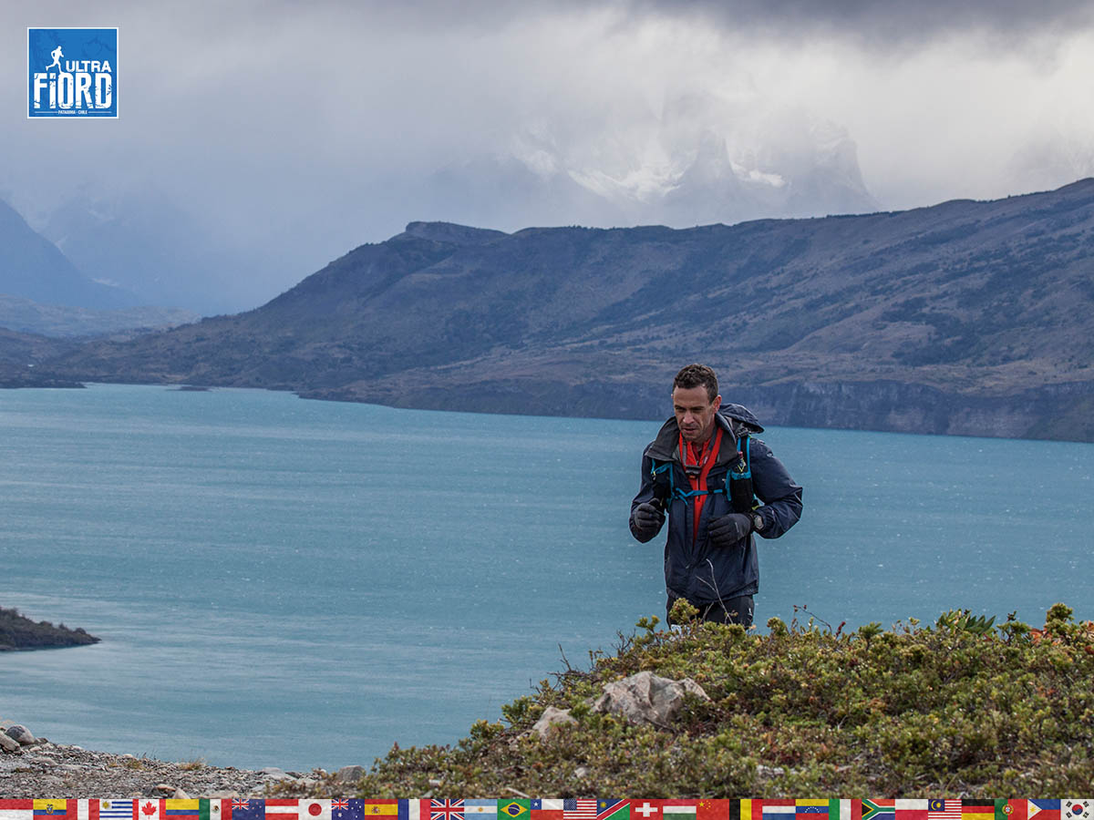 utf1904clsi0180FB; Ultra Trail Running in Patagonia, Chile; Ultra Fiord Fifth Edition 2019; Torres del Paine; Última Esperanza; Puerto Natales; Patagonia Running Ultra Trail; Claudio Silva