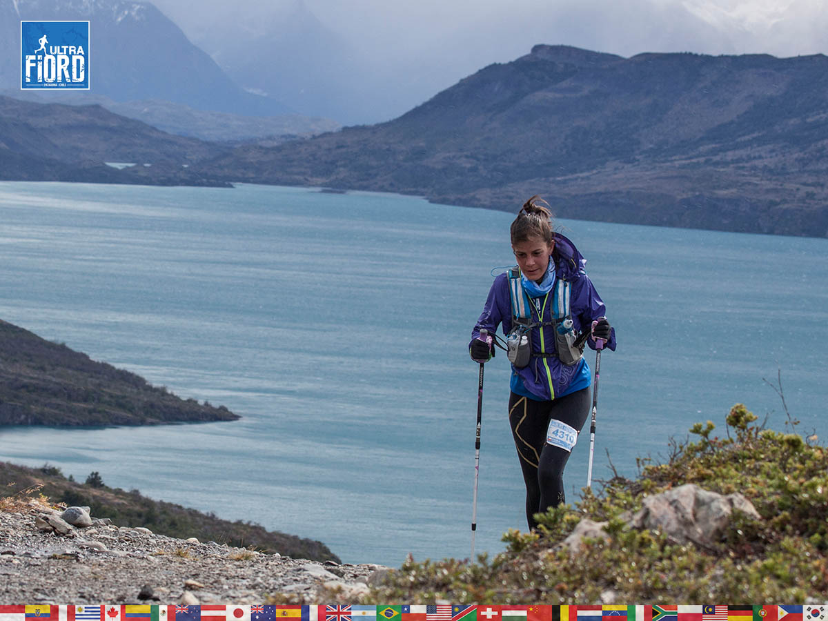 utf1904clsi0186FB; Ultra Trail Running in Patagonia, Chile; Ultra Fiord Fifth Edition 2019; Torres del Paine; Última Esperanza; Puerto Natales; Patagonia Running Ultra Trail; Claudio Silva