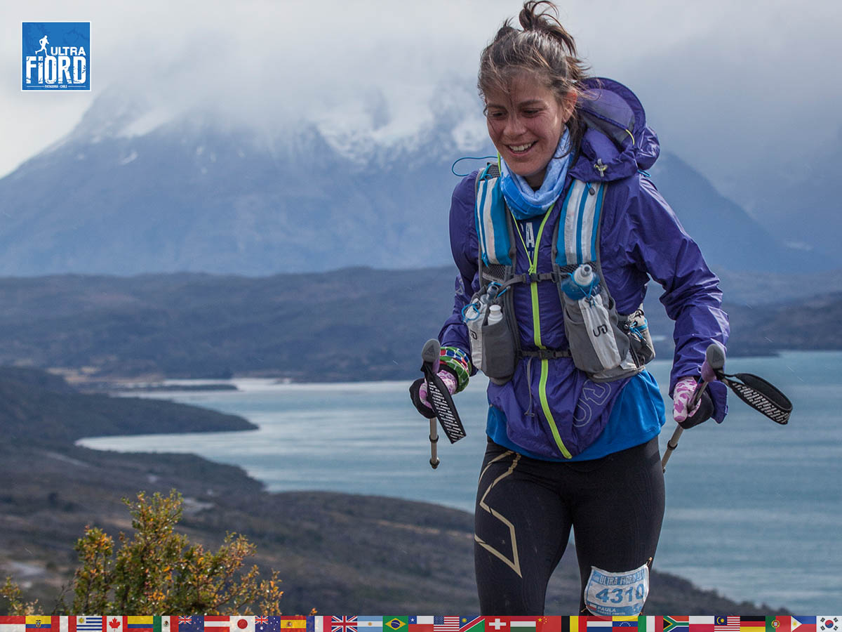utf1904clsi0189FB; Ultra Trail Running in Patagonia, Chile; Ultra Fiord Fifth Edition 2019; Torres del Paine; Última Esperanza; Puerto Natales; Patagonia Running Ultra Trail; Claudio Silva