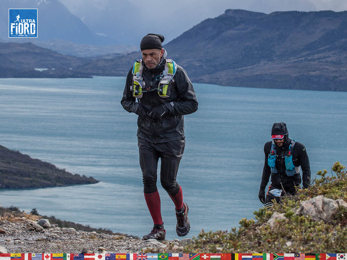 utf1904clsi0191FB; Ultra Trail Running in Patagonia, Chile; Ultra Fiord Fifth Edition 2019; Torres del Paine; Última Esperanza; Puerto Natales; Patagonia Running Ultra Trail; Claudio Silva