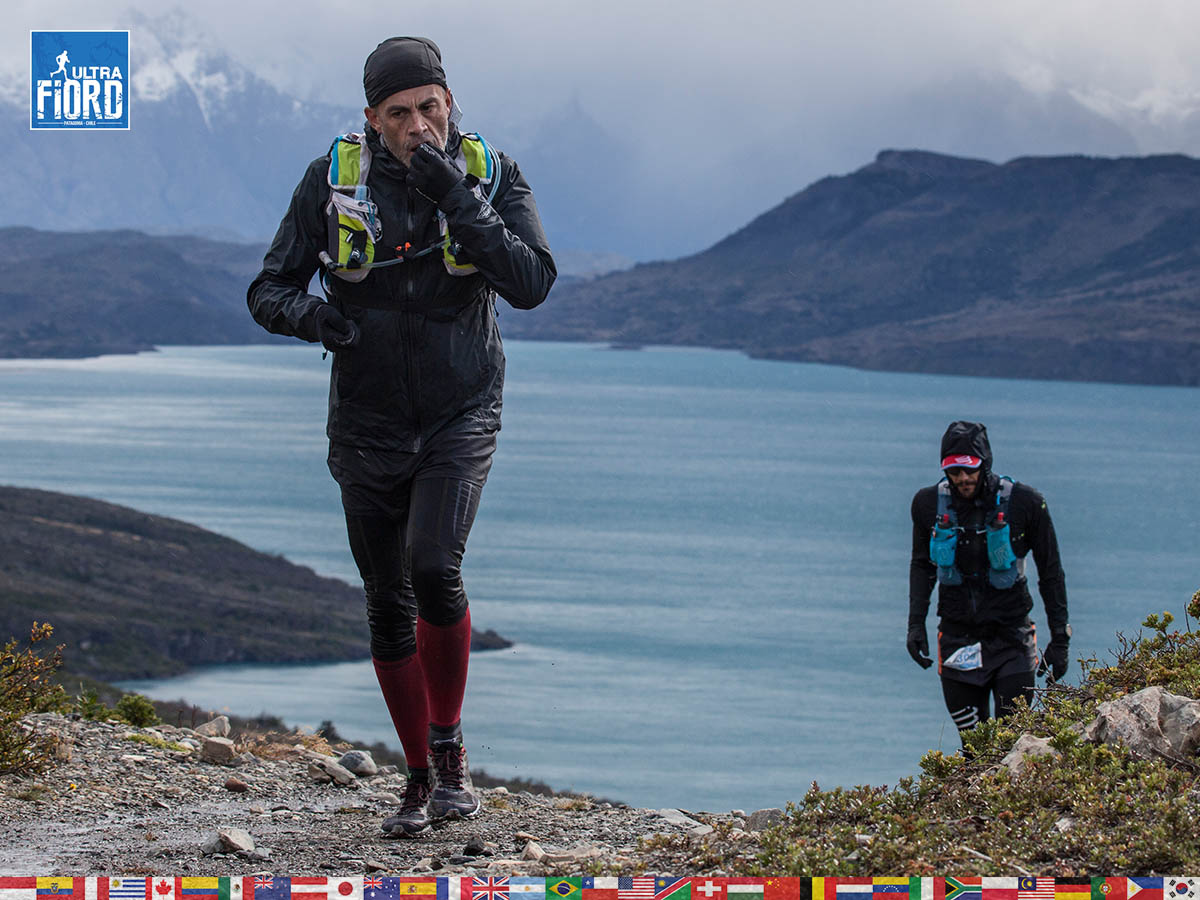 utf1904clsi0192FB Ultra Trail Running in Patagonia, Chile; Ultra Fiord Fifth Edition 2019; Torres del Paine; Última Esperanza; Puerto Natales; Patagonia Running Ultra Trail; Claudio Silva