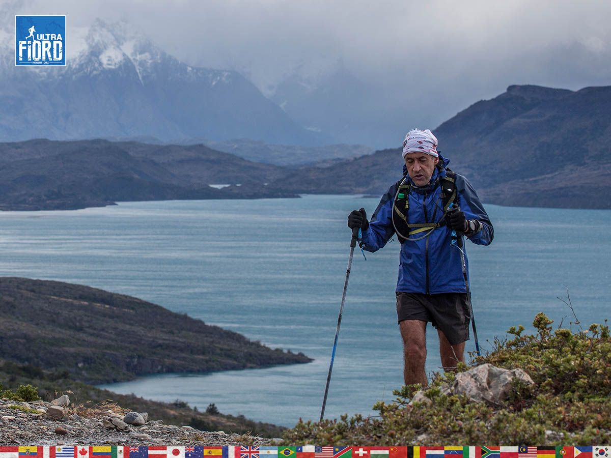 utf1904clsi0197FB Ultra Trail Running in Patagonia, Chile; Ultra Fiord Fifth Edition 2019; Torres del Paine; Última Esperanza; Puerto Natales; Patagonia Running Ultra Trail; Claudio Silva