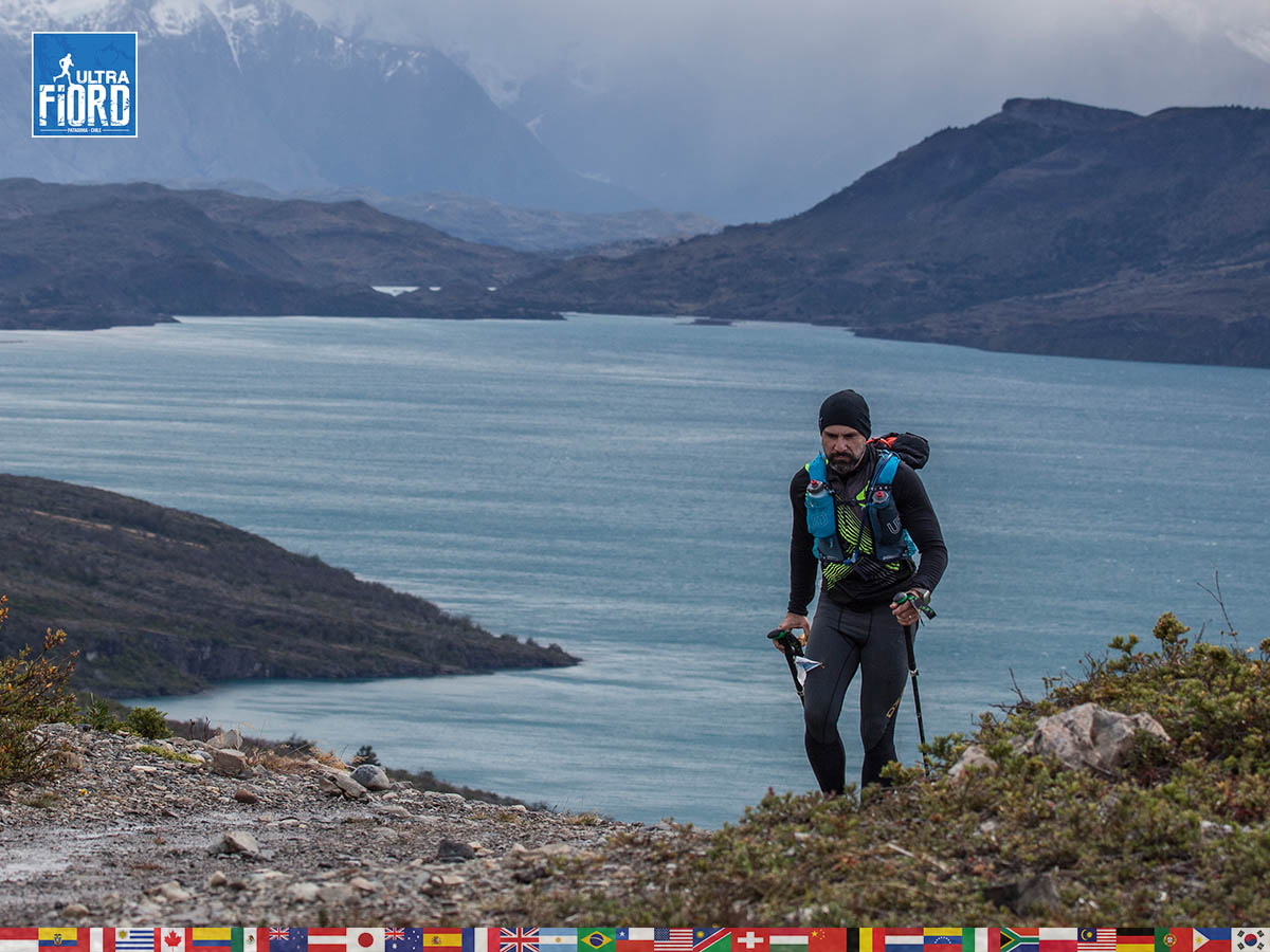 utf1904clsi0202FB Ultra Trail Running in Patagonia, Chile; Ultra Fiord Fifth Edition 2019; Torres del Paine; Última Esperanza; Puerto Natales; Patagonia Running Ultra Trail; Claudio Silva