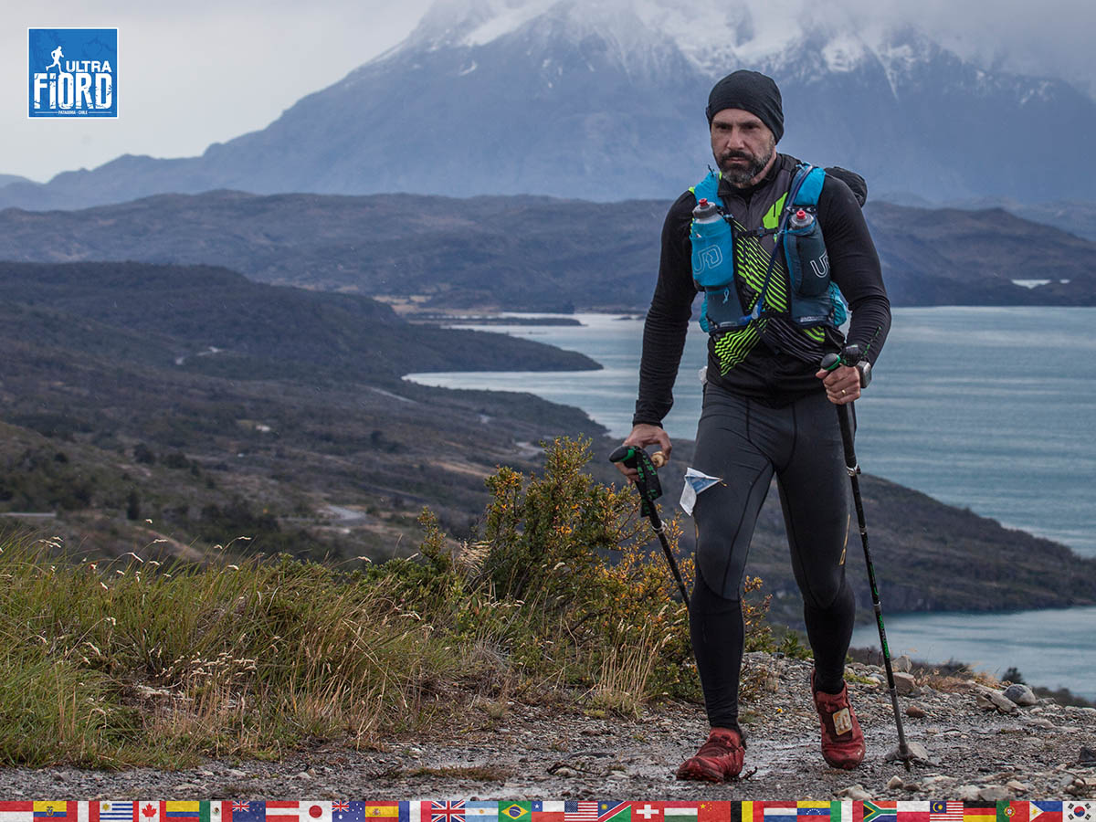 utf1904clsi0204FB Ultra Trail Running in Patagonia, Chile; Ultra Fiord Fifth Edition 2019; Torres del Paine; Última Esperanza; Puerto Natales; Patagonia Running Ultra Trail; Claudio Silva