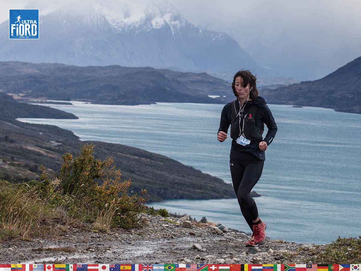 utf1904clsi0209FB Ultra Trail Running in Patagonia, Chile; Ultra Fiord Fifth Edition 2019; Torres del Paine; Última Esperanza; Puerto Natales; Patagonia Running Ultra Trail; Claudio Silva