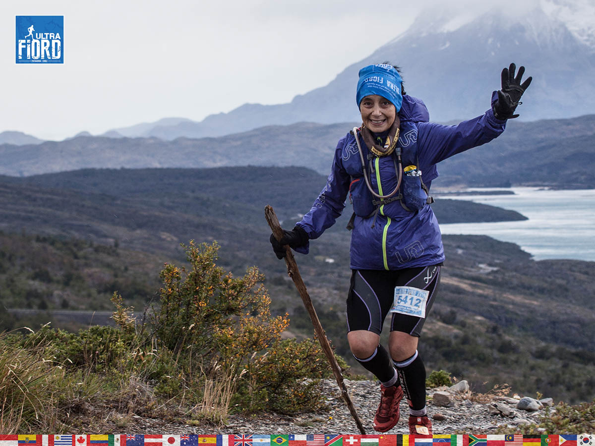 utf1904clsi0211FB Ultra Trail Running in Patagonia, Chile; Ultra Fiord Fifth Edition 2019; Torres del Paine; Última Esperanza; Puerto Natales; Patagonia Running Ultra Trail; Claudio Silva