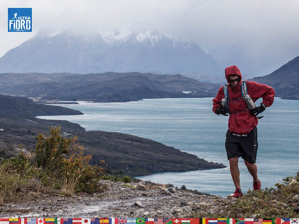 utf1904clsi0222FB Ultra Trail Running in Patagonia, Chile; Ultra Fiord Fifth Edition 2019; Torres del Paine; Última Esperanza; Puerto Natales; Patagonia Running Ultra Trail; Claudio Silva