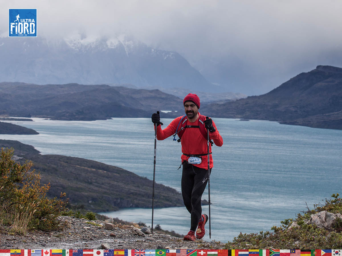 utf1904clsi0225FB Ultra Trail Running in Patagonia, Chile; Ultra Fiord Fifth Edition 2019; Torres del Paine; Última Esperanza; Puerto Natales; Patagonia Running Ultra Trail; Claudio Silva