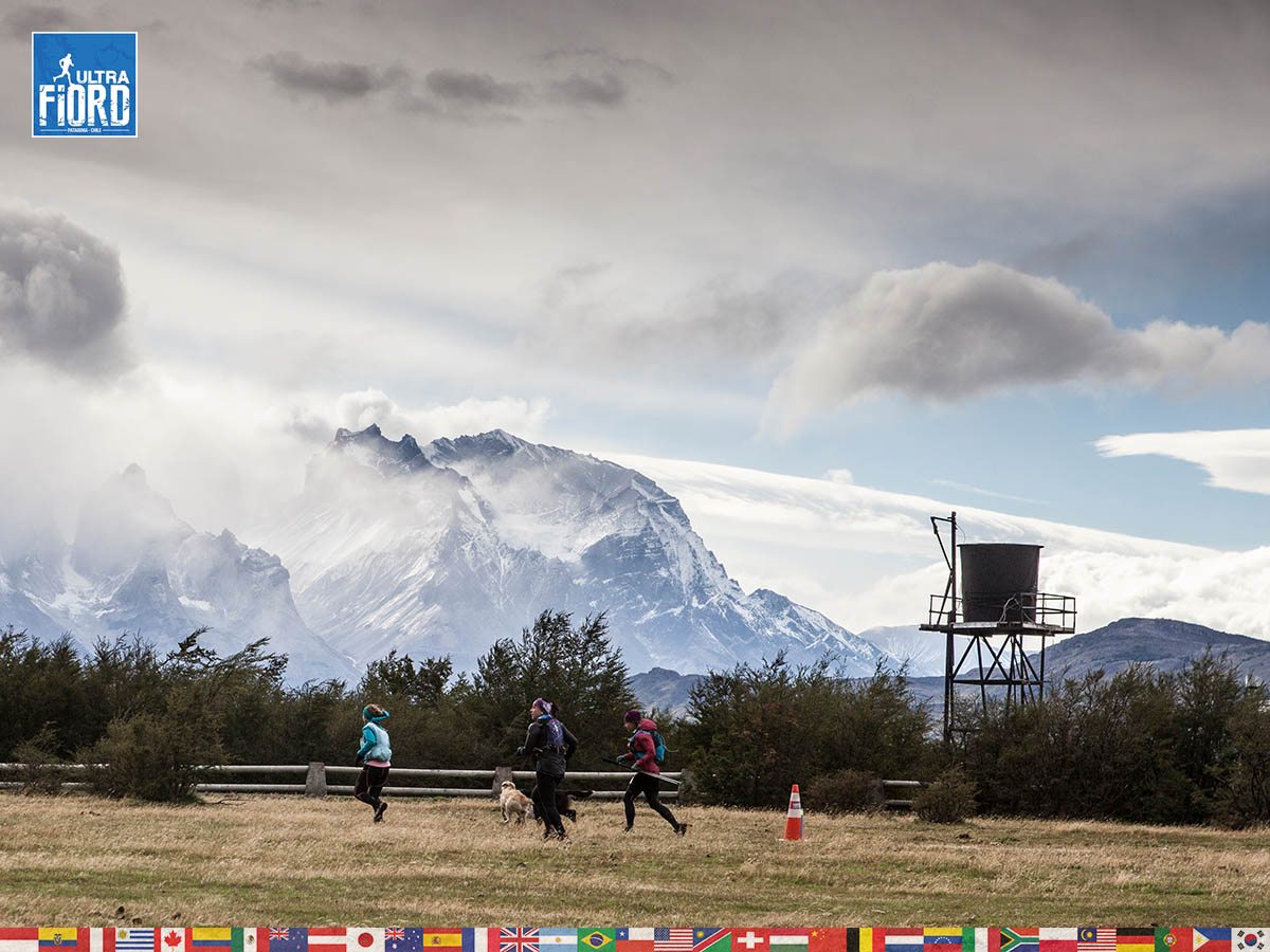 utf1904clsi0280FB Ultra Trail Running in Patagonia, Chile; Ultra Fiord Fifth Edition 2019; Torres del Paine; Última Esperanza; Puerto Natales; Patagonia Running Ultra Trail; Claudio Silva