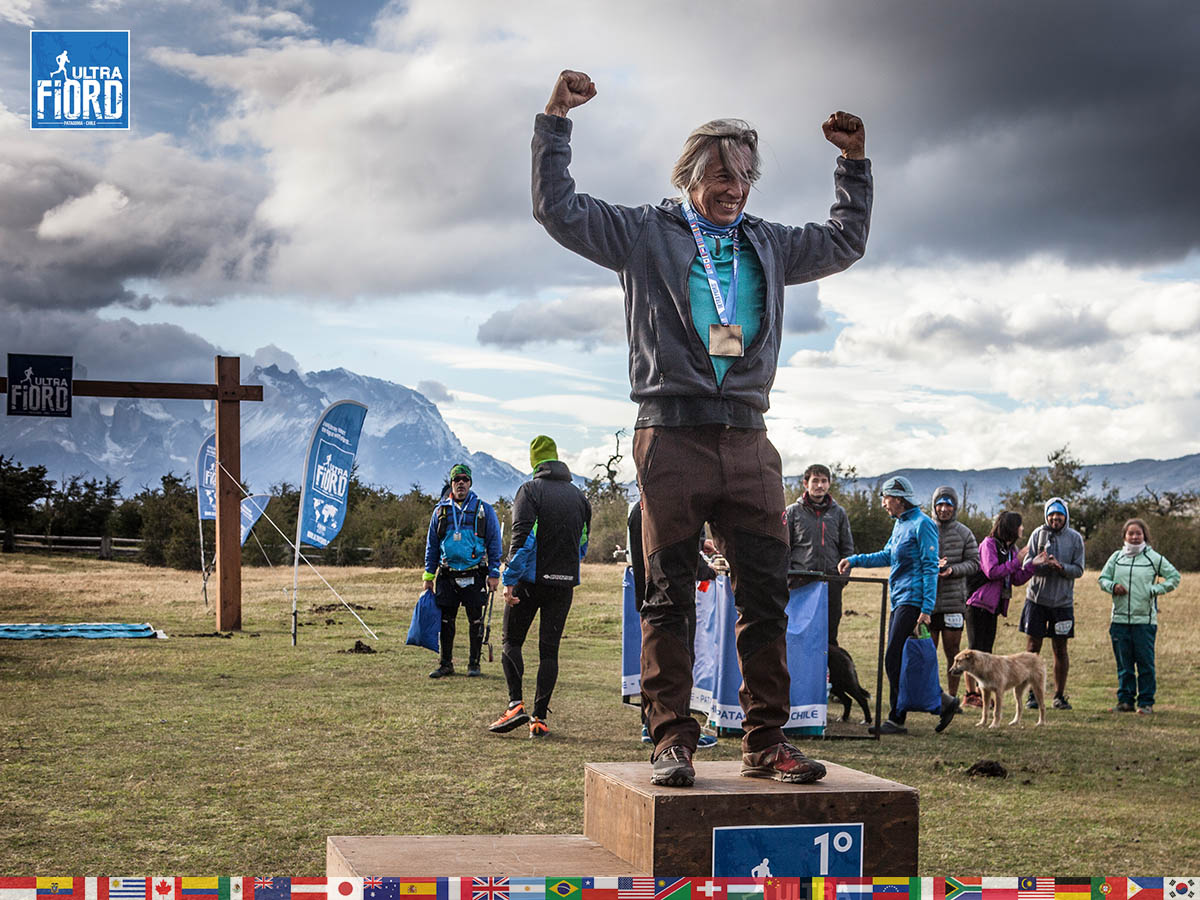 utf1904clsi0331FB; Ultra Trail Running in Patagonia, Chile; Ultra Fiord Fifth Edition 2019; Torres del Paine; Última Esperanza; Puerto Natales; Patagonia Running Ultra Trail; Claudio Silva