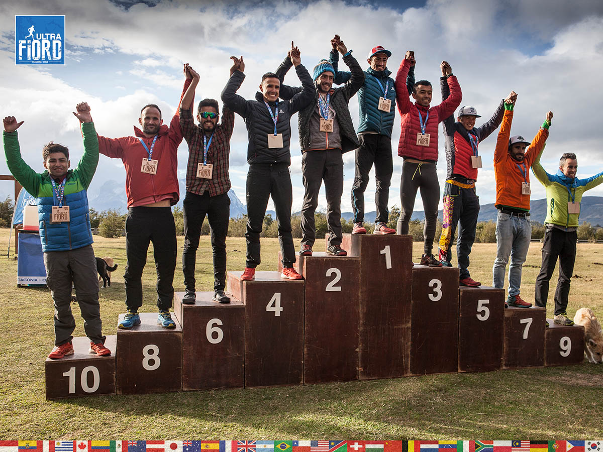 utf1904clsi0345FB; Ultra Trail Running in Patagonia, Chile; Ultra Fiord Fifth Edition 2019; Torres del Paine; Última Esperanza; Puerto Natales; Patagonia Running Ultra Trail; Claudio Silva