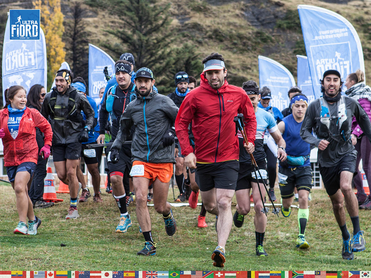 utf1904clsi9686FB; Ultra Trail Running in Patagonia, Chile; Ultra Fiord Fifth Edition 2019; Torres del Paine; Última Esperanza; Puerto Natales; Patagonia Running Ultra Trail; Claudio Silva