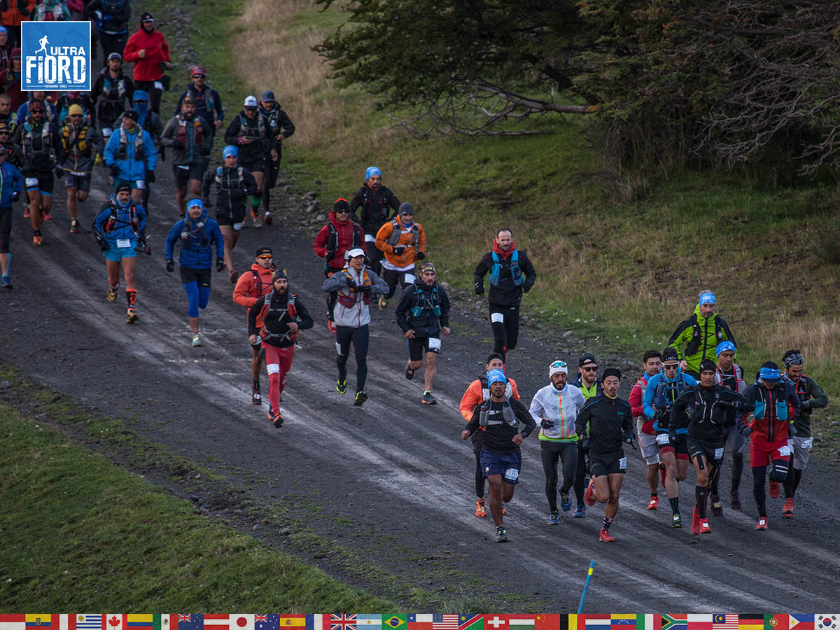utf1904clsi9919FB; Ultra Trail Running in Patagonia, Chile; Ultra Fiord Fifth Edition 2019; Torres del Paine; Última Esperanza; Puerto Natales; Patagonia Running Ultra Trail; Claudio Silva