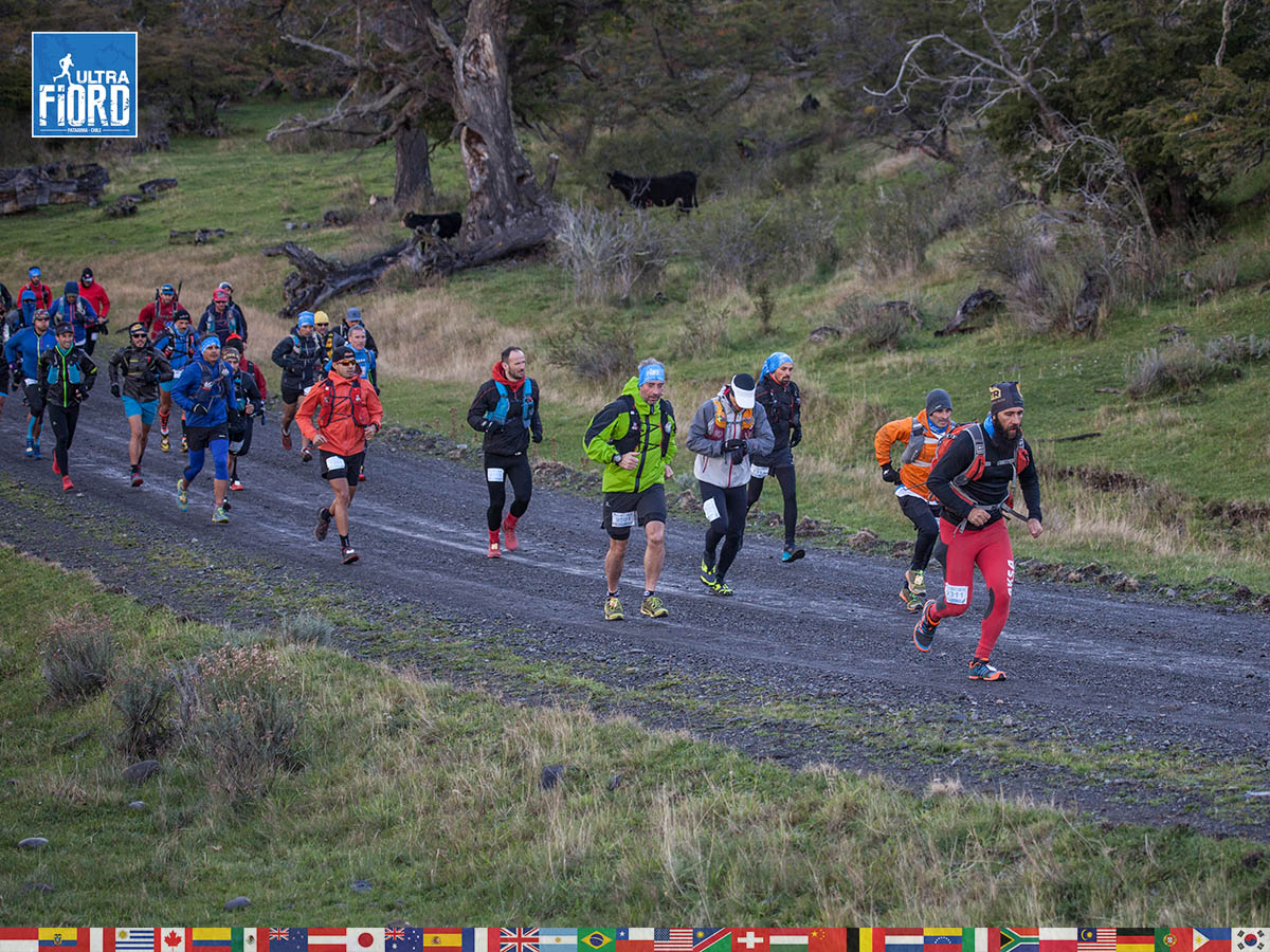 utf1904clsi9928FB; Ultra Trail Running in Patagonia, Chile; Ultra Fiord Fifth Edition 2019; Torres del Paine; Última Esperanza; Puerto Natales; Patagonia Running Ultra Trail; Claudio Silva