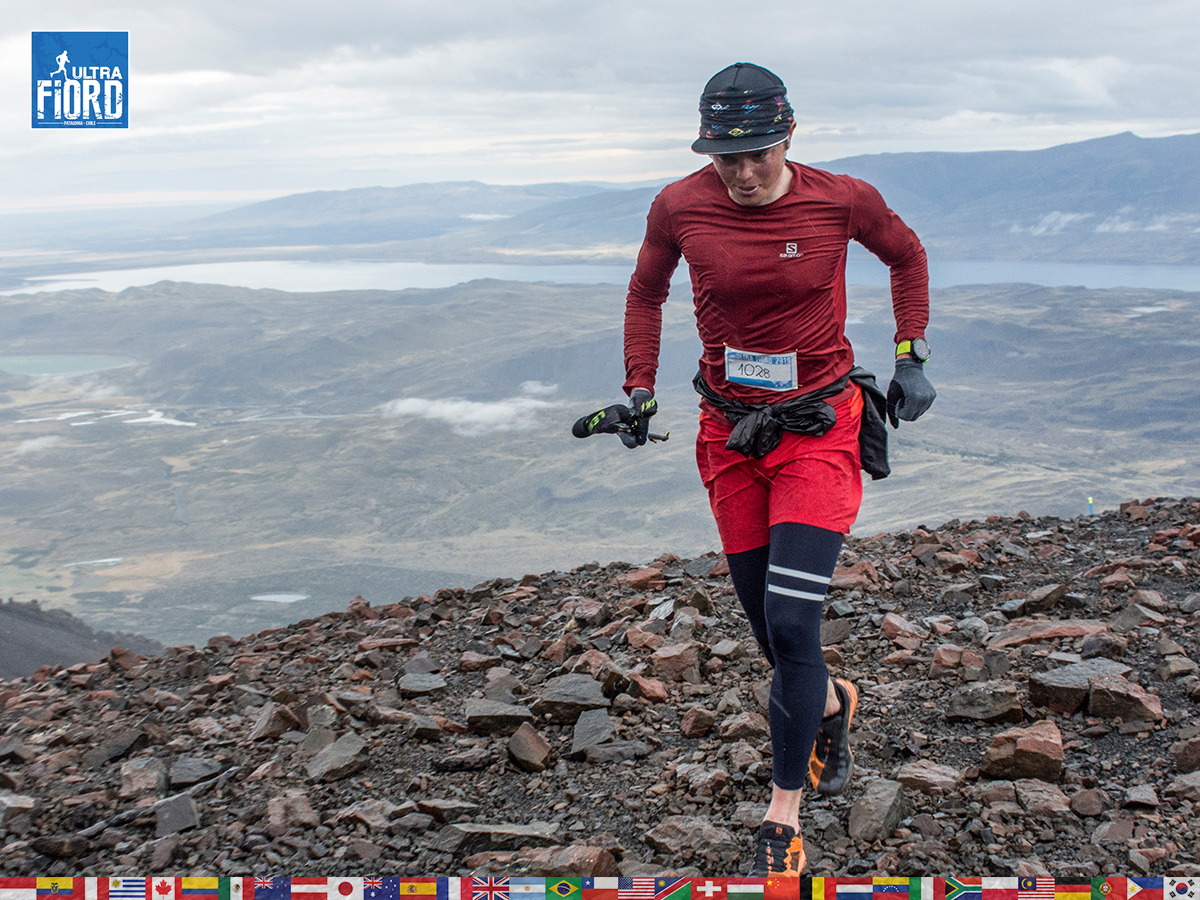 utf1904lues01FB; Ultra Trail Running in Patagonia, Chile; Ultra Fiord Fifth Edition 2019; Torres del Paine; Última Esperanza; Puerto Natales; Patagonia Running Ultra Trail; Fernando Vega