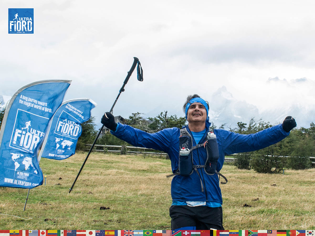 utf1904lues106FB; Ultra Trail Running in Patagonia, Chile; Ultra Fiord Fifth Edition 2019; Torres del Paine; Última Esperanza; Puerto Natales; Patagonia Running Ultra Trail; Luis Espinoza