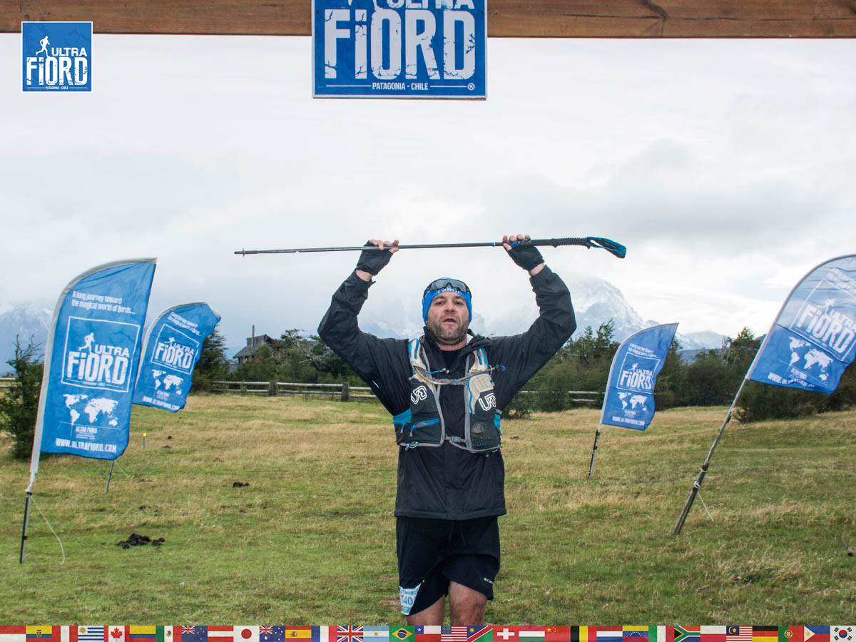 utf1904lues107FB; Ultra Trail Running in Patagonia, Chile; Ultra Fiord Fifth Edition 2019; Torres del Paine; Última Esperanza; Puerto Natales; Patagonia Running Ultra Trail; Luis Espinoza
