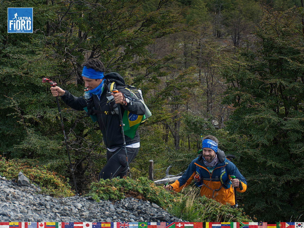 utf1904lues107aFB; Ultra Trail Running in Patagonia, Chile; Ultra Fiord Fifth Edition 2019; Torres del Paine; Última Esperanza; Puerto Natales; Patagonia Running Ultra Trail; Luis Espinoza