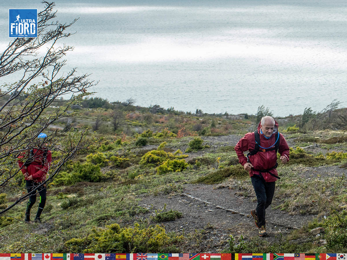 utf1904lues109aFB; Ultra Trail Running in Patagonia, Chile; Ultra Fiord Fifth Edition 2019; Torres del Paine; Última Esperanza; Puerto Natales; Patagonia Running Ultra Trail; Luis Espinoza