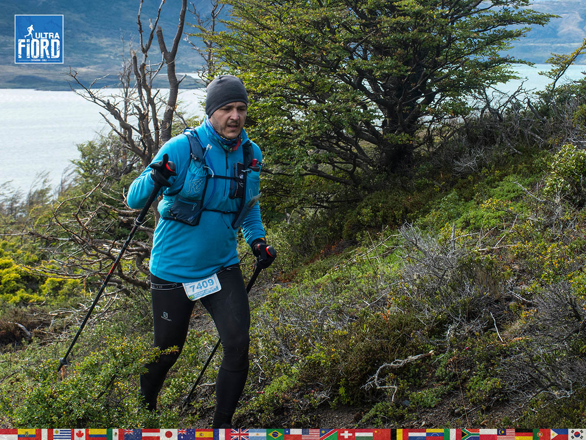 utf1904lues114FB; Ultra Trail Running in Patagonia, Chile; Ultra Fiord Fifth Edition 2019; Torres del Paine; Última Esperanza; Puerto Natales; Patagonia Running Ultra Trail; Luis Espinoza