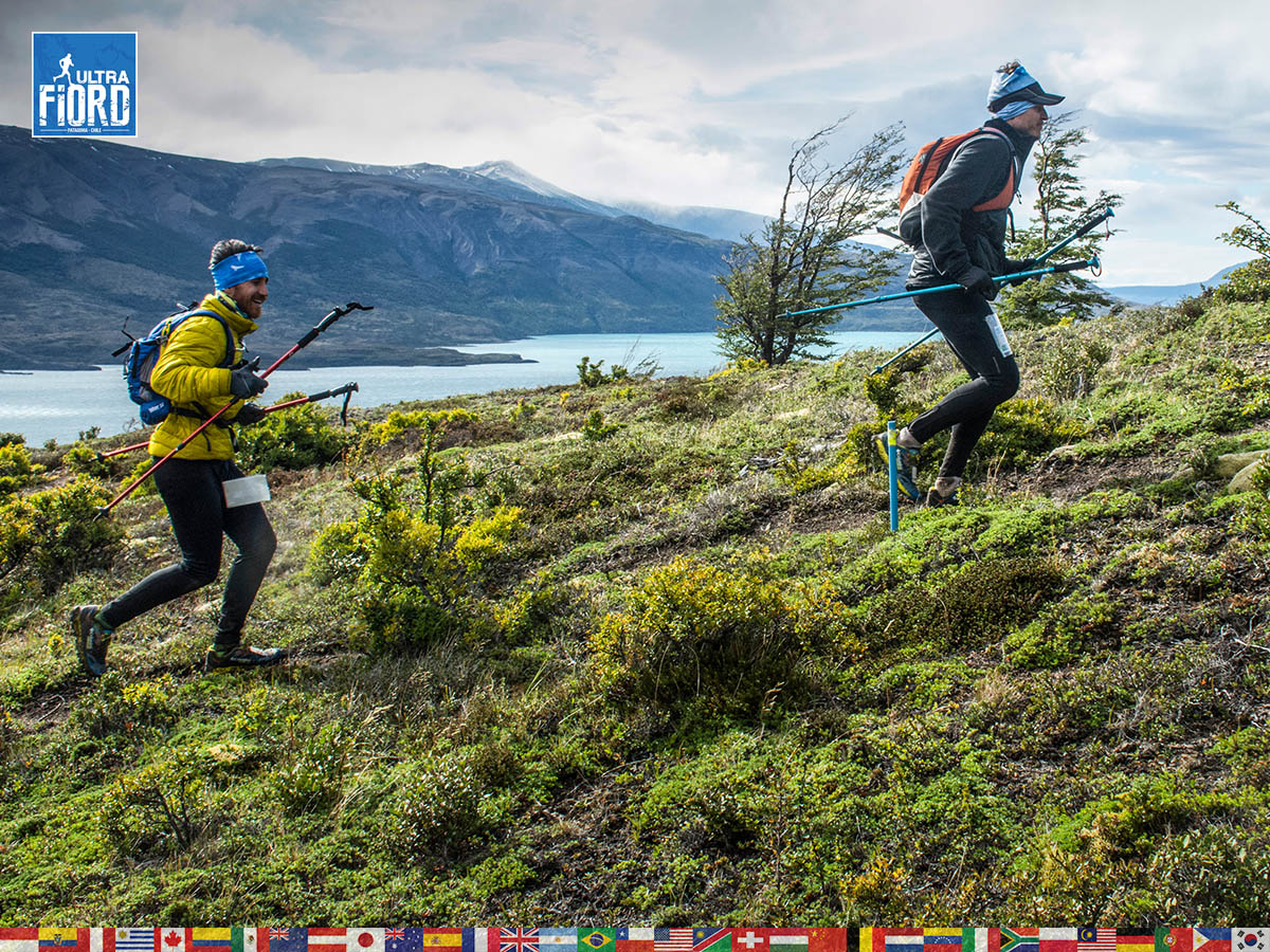 utf1904lues115FB; Ultra Trail Running in Patagonia, Chile; Ultra Fiord Fifth Edition 2019; Torres del Paine; Última Esperanza; Puerto Natales; Patagonia Running Ultra Trail; Luis Espinoza