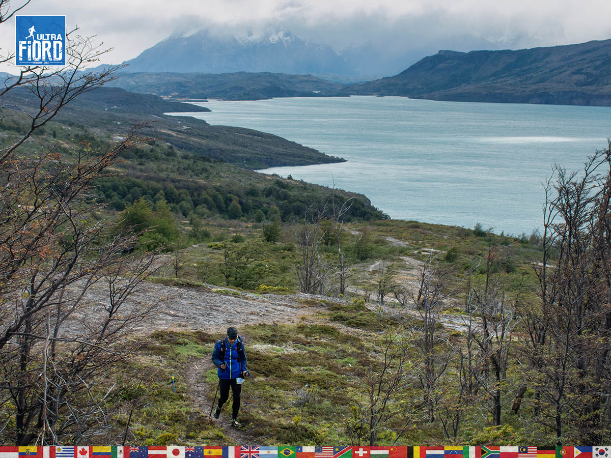 utf1904lues117FB; Ultra Trail Running in Patagonia, Chile; Ultra Fiord Fifth Edition 2019; Torres del Paine; Última Esperanza; Puerto Natales; Patagonia Running Ultra Trail; Luis Espinoza