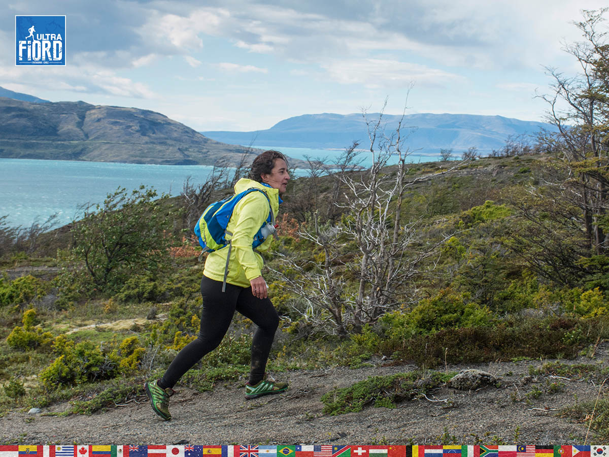 utf1904lues119FB; Ultra Trail Running in Patagonia, Chile; Ultra Fiord Fifth Edition 2019; Torres del Paine; Última Esperanza; Puerto Natales; Patagonia Running Ultra Trail; Luis Espinoza