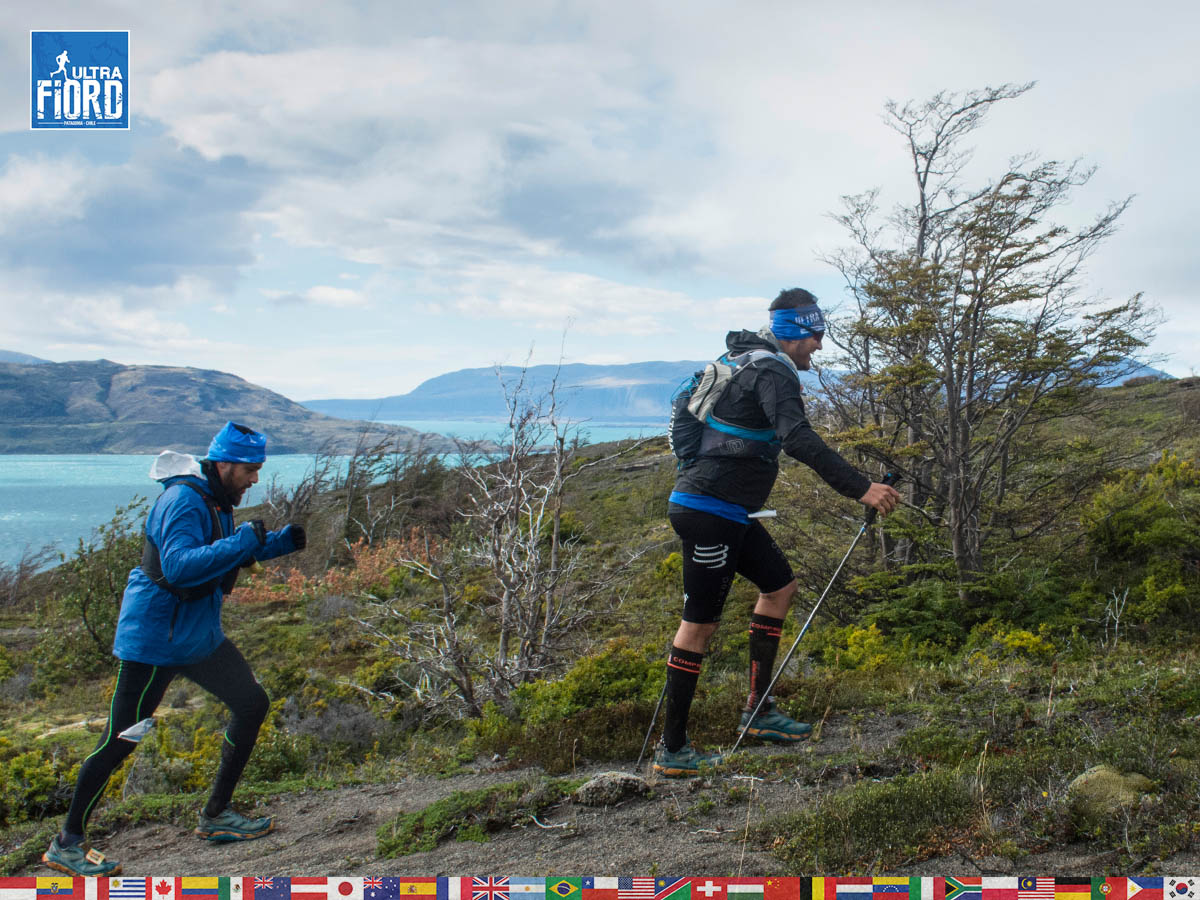 utf1904lues121FB; Ultra Trail Running in Patagonia, Chile; Ultra Fiord Fifth Edition 2019; Torres del Paine; Última Esperanza; Puerto Natales; Patagonia Running Ultra Trail; Luis Espinoza