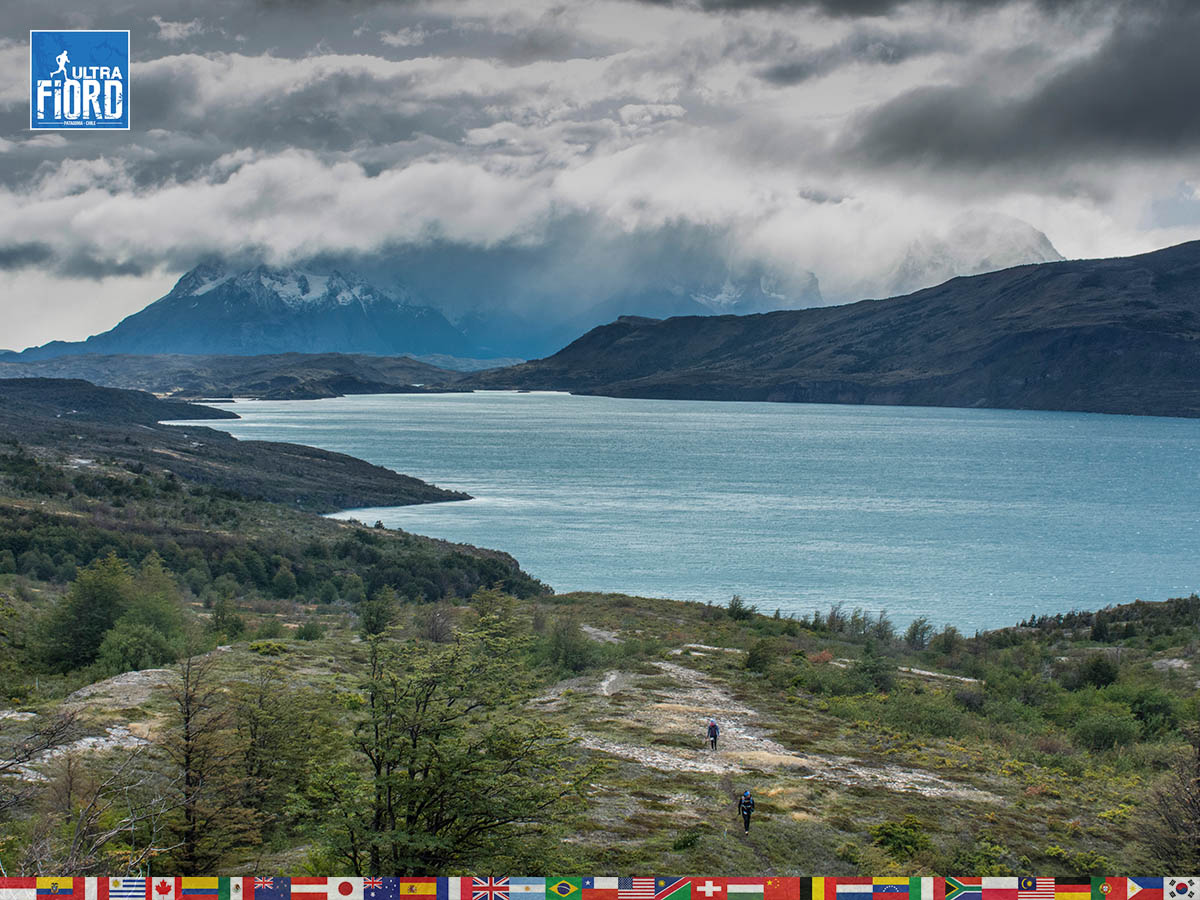 utf1904lues124FB; Ultra Trail Running in Patagonia, Chile; Ultra Fiord Fifth Edition 2019; Torres del Paine; Última Esperanza; Puerto Natales; Patagonia Running Ultra Trail; Luis Espinoza