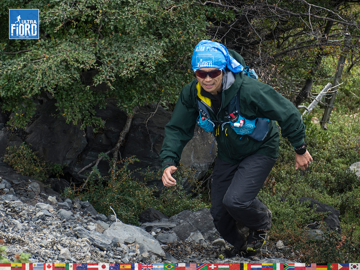 utf1904lues128FB; Ultra Trail Running in Patagonia, Chile; Ultra Fiord Fifth Edition 2019; Torres del Paine; Última Esperanza; Puerto Natales; Patagonia Running Ultra Trail; Luis Espinoza