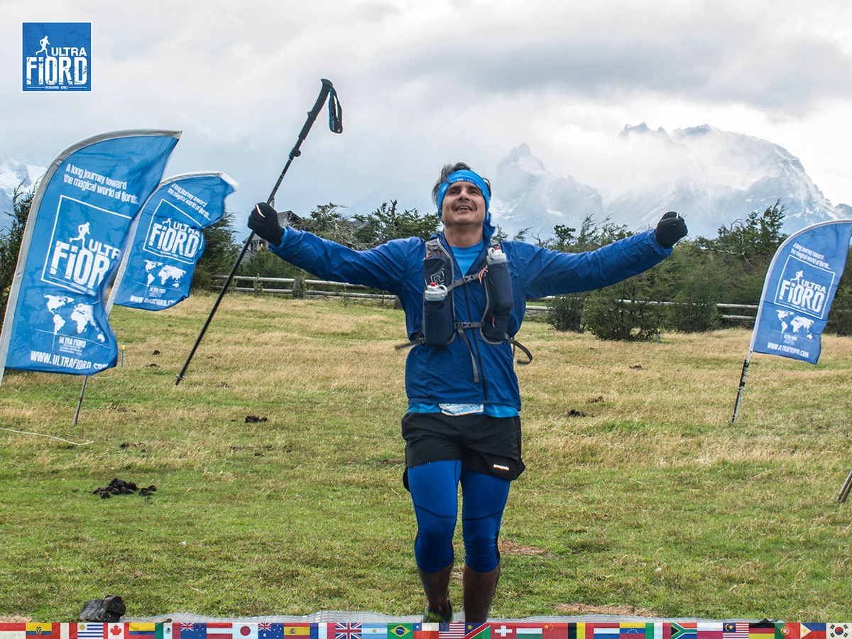 utf1904lues131FB; Ultra Trail Running in Patagonia, Chile; Ultra Fiord Fifth Edition 2019; Torres del Paine; Última Esperanza; Puerto Natales; Patagonia Running Ultra Trail; Luis Espinoza
