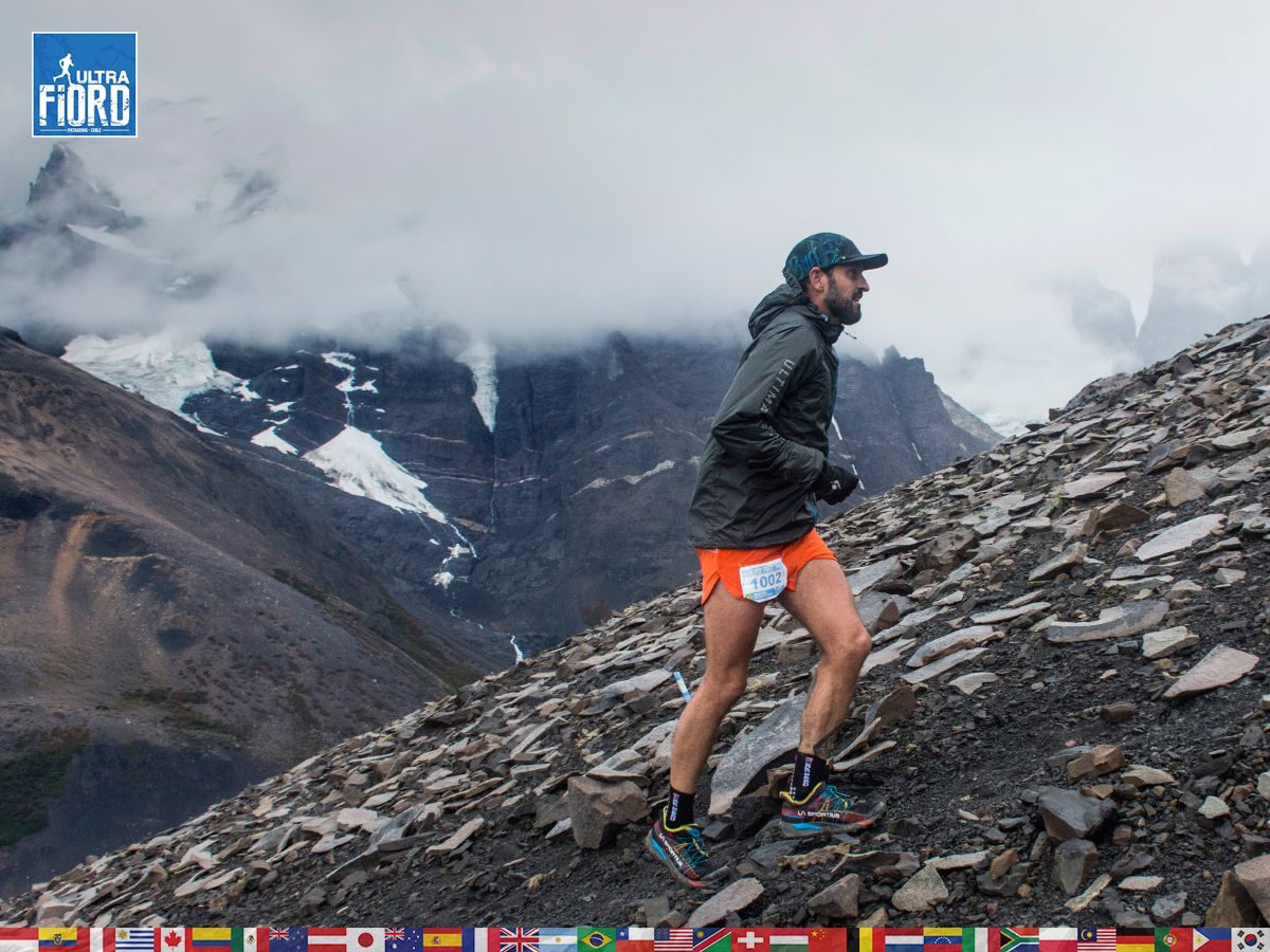 utf1904lues13FButf1904lues02FB; Ultra Trail Running in Patagonia, Chile; Ultra Fiord Fifth Edition 2019; Torres del Paine; Última Esperanza; Puerto Natales; Patagonia Running Ultra Trail; Luis Espinoza