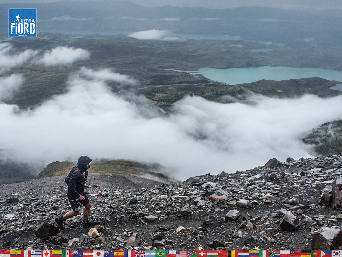 utf1904lues20FButf1904lues02FB; Ultra Trail Running in Patagonia, Chile; Ultra Fiord Fifth Edition 2019; Torres del Paine; Última Esperanza; Puerto Natales; Patagonia Running Ultra Trail; Luis Espinoza
