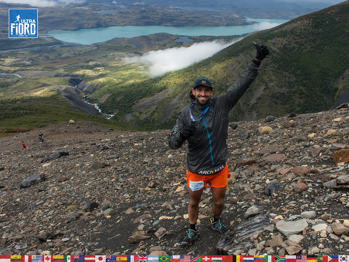 utf1904lues25FButf1904lues02FB; Ultra Trail Running in Patagonia, Chile; Ultra Fiord Fifth Edition 2019; Torres del Paine; Última Esperanza; Puerto Natales; Patagonia Running Ultra Trail; Luis Espinoza