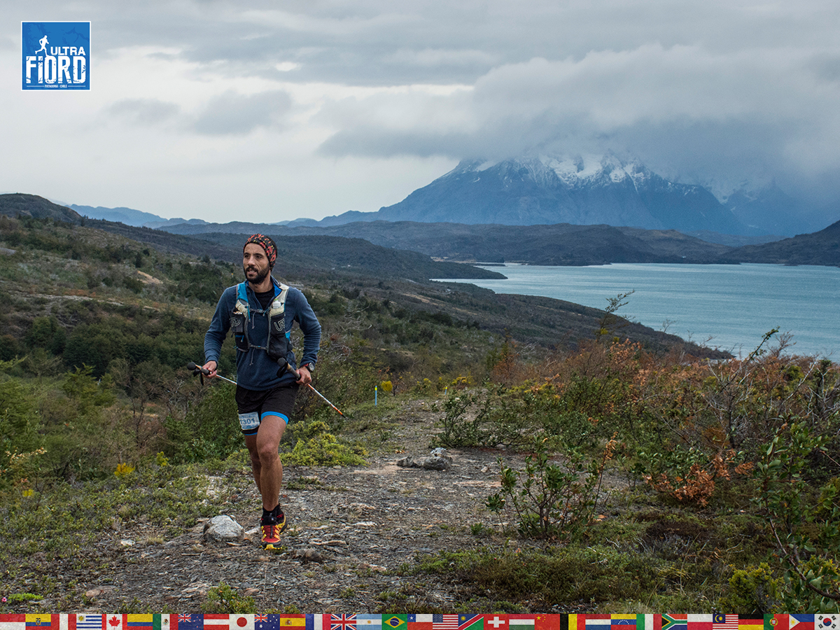 utf1904lues60FB; Ultra Trail Running in Patagonia, Chile; Ultra Fiord Fifth Edition 2019; Torres del Paine; Última Esperanza; Puerto Natales; Patagonia Running Ultra Trail; Luis Espinoza