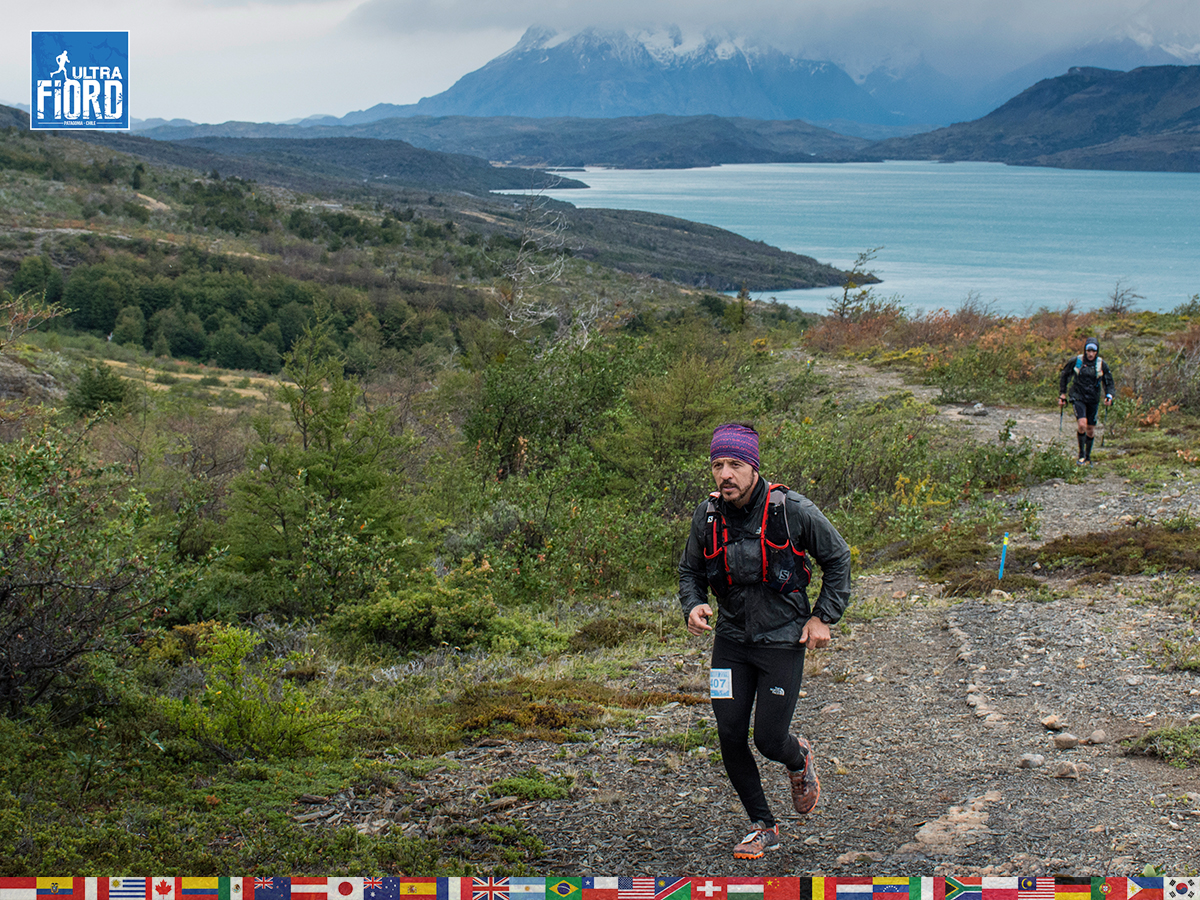 utf1904lues64FB; Ultra Trail Running in Patagonia, Chile; Ultra Fiord Fifth Edition 2019; Torres del Paine; Última Esperanza; Puerto Natales; Patagonia Running Ultra Trail; Luis Espinoza