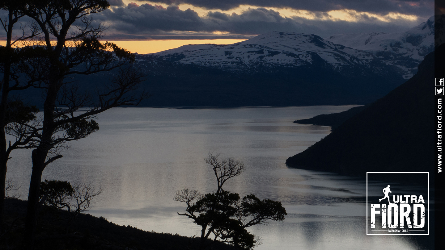 Ultra Trail Running in Ultima Esperanza, Patagonia, Chile; Ultra Fiord Route Fjord and Scenery