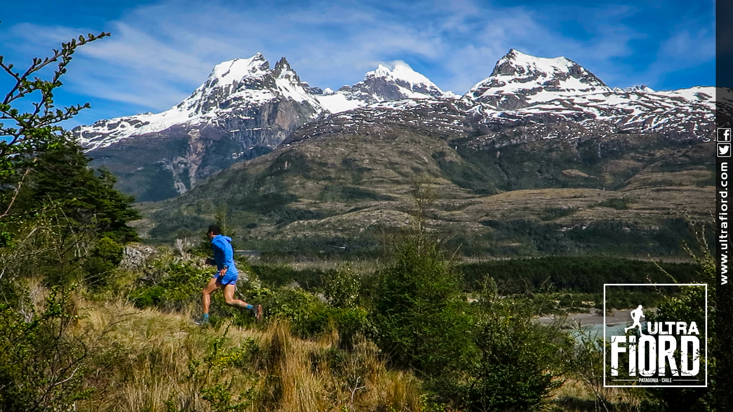 Ultra Trail Running in Ultima Esperanza, Patagonia, Chile; Ultra Fiord Route Mountain Running