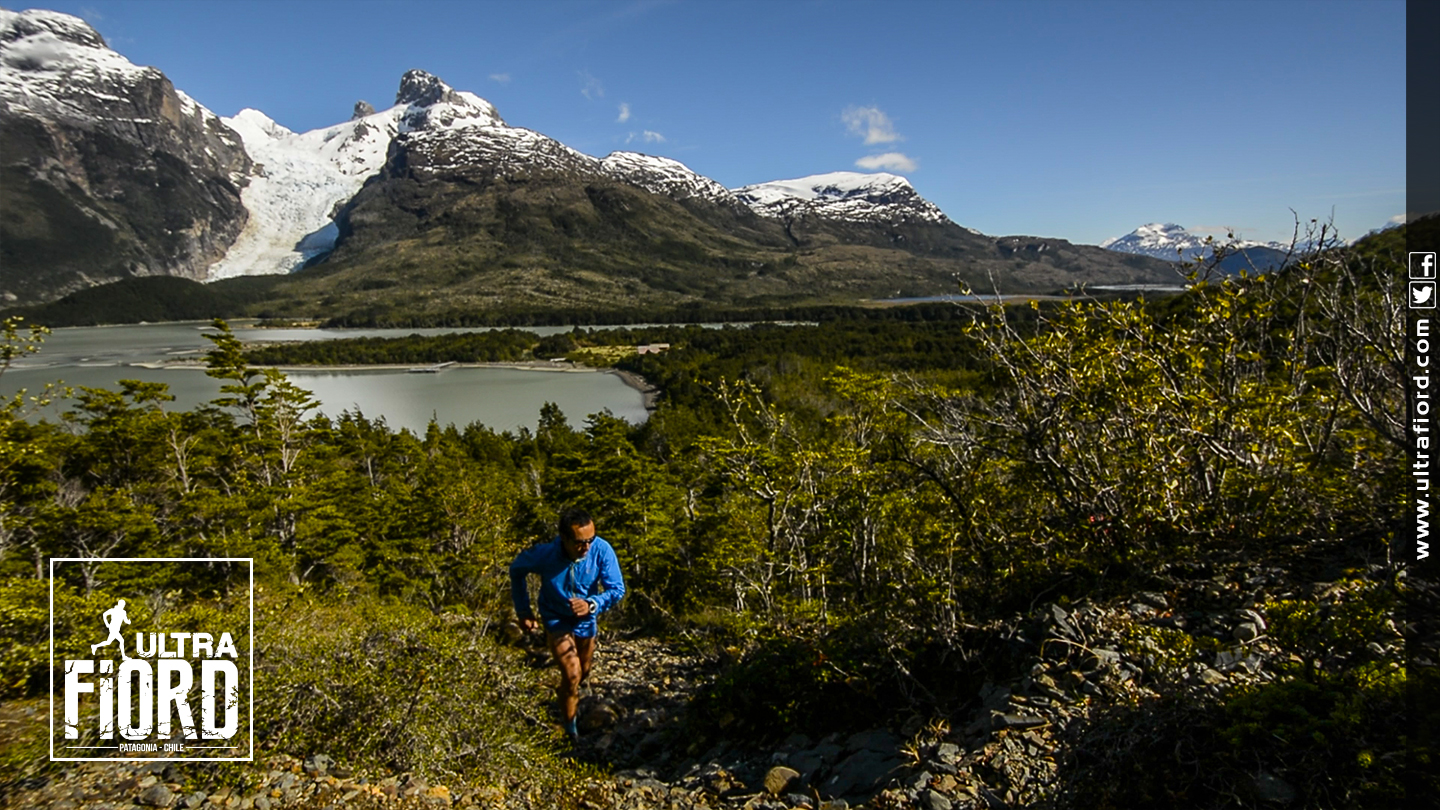 Ultra Trail Running in Ultima Esperanza, Patagonia, Chile; Ultra Fiord Route Mountain and Fjord Running